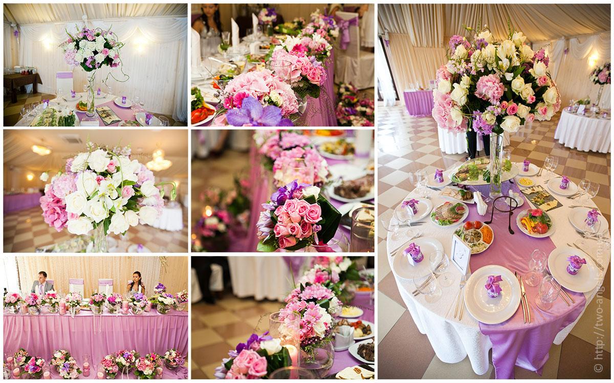 Цветы и декор свадеб