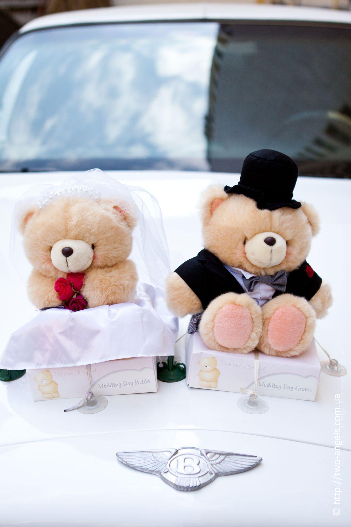 Украшение свадебных машин необычные
