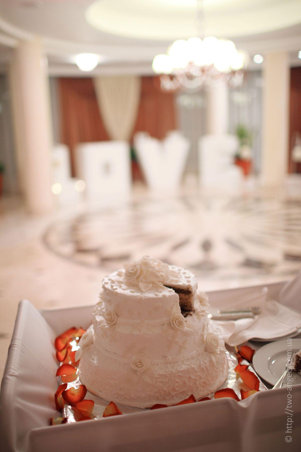 Свадебные торты на заказ необычные