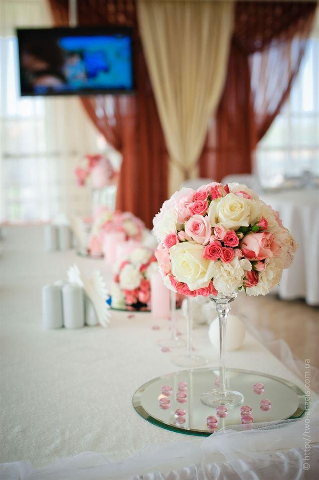 Украшение стола гостей на свадьбу своими руками